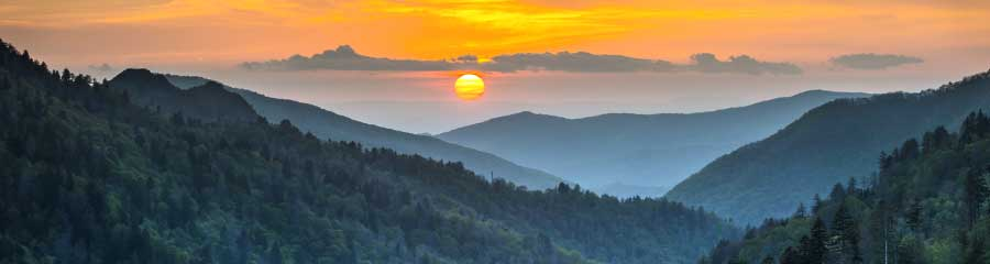 Image of the Great Smokey Mountains